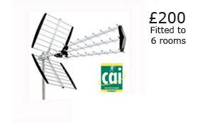 Aerial Installation besides  on tv antenna advertised on