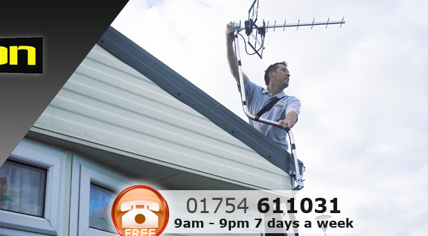 Satellite & Aerial Installations in Caravans Skegness, Ingoldmells and across Lincolnshire